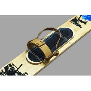 Крепления для охотничьих лыж натуральная кожа с ремнями плюс амортизатор резиновый