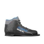 Лыжные ботинки TREK SOUL NN75 (чёрный, лого синий)