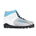 Лыжные ботинки TREK SNS OMNI (серо-бело-голубые)