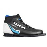 Лыжные ботинки TREK SOUL NN75 (чёрно-бело-синие)