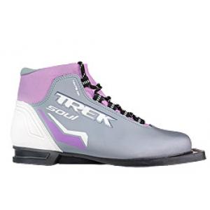 Лыжные ботинки TREK SOUL NN75 (бело-сиреневый)
