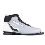 Лыжные ботинки TREK SOUL NN75 (серо-белый цвет)