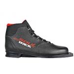 Лыжные ботинки TREK SOUL NN75 (чёрно-красные)